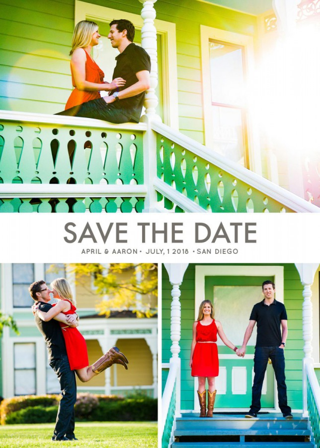 Save the Date - Card 3